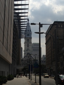 The city = Philadelphia.  This time.