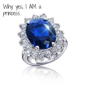 princess diana ring